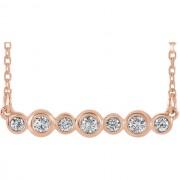 Diamond-Bezel-Set-Bar-Necklace_rose