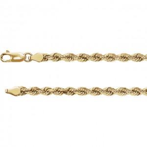 Diamond Cut Rope Chain