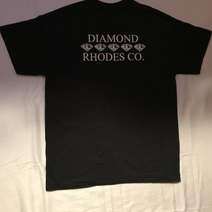 Diamond Rhodes t-shirt Back